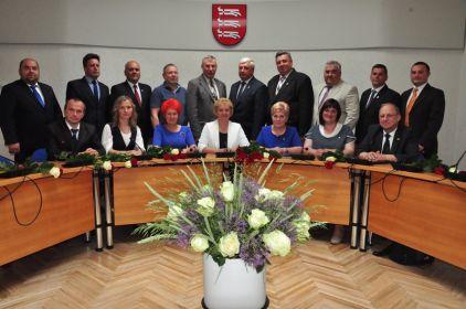 Daugavpils novada domes sēde
