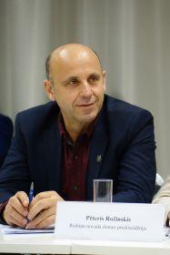 Riebiņu novada domes priekšsēdētājs Pēteris Rožinskis