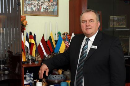 Līvānu novada domes priekšsēdētājs Andris Vaivods